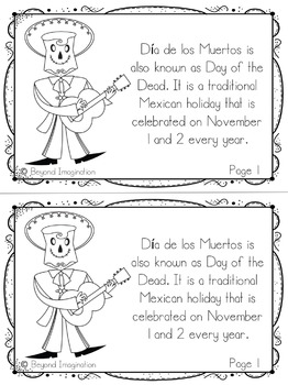 Día de los Muertos | Day of the Dead | 48 Pages for Differentiated Learning+More