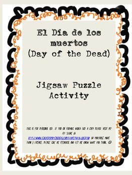Day of the Dead Jigsaw Poem