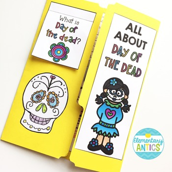 Day of the Dead Lapbook Activity {Dia de los Muertos}