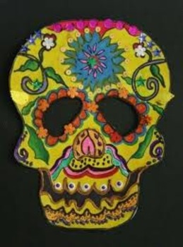 Day of the Dead Mask Lesson (WORD FORMAT)