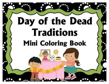 Day of the Dead Mini Coloring Book
