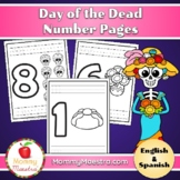 Day of the Dead Number Pages (1 - 10)