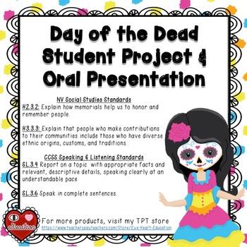 Day of the Dead Ofrenda Project - Dia de los Muertos