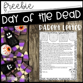 Day of the Dead Parent Letter