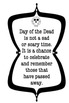 Day of the Dead Printable Bulletin Board Set with 8 bonus flash cards!