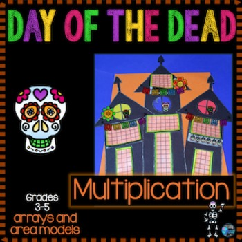 Day of the Dead Activity - Multiplication Arrays