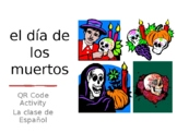 Day of the Dead QR Code Activity