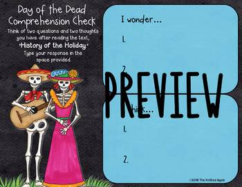 Day of the Dead Read and Respond (Digital or Print)