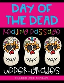 Day of the Dead Reading Comprehension Passage