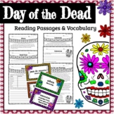 Day of the Dead Reading Passages & Vocabulary 4th - 8th Grade