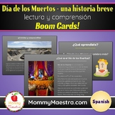 Day of the Dead SPANISH Reading Comprehension Boom Cards