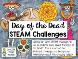 Day of the Dead STEAM Engineering Challenges - Set of 5