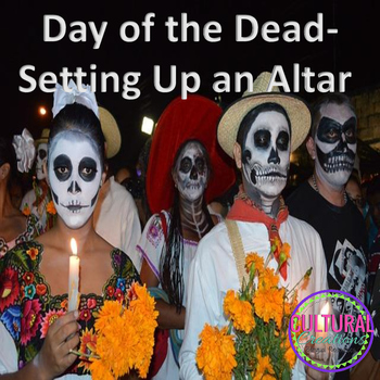 Day of the Dead-Setting Up an Altar