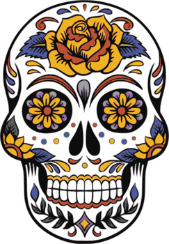 Day of the Dead Skeleton Name Activity - quick and easy setup