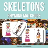 Day of the Dead Skeletons Rhyming Matchups