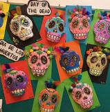 Day of the Dead. El Dia De Las Muertos. Cavalero. Skulls.