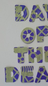 Day of the Dead Small letters