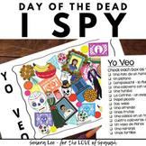 Day of the Dead Spanish Activity - Dia de Los Muertos - I