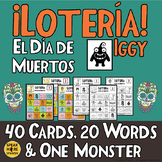 Day of the Dead Spanish Vocabulary Bingo Game. La Lotería