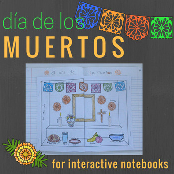 Day of the Dead Split Booklet for Interactive Notebooks