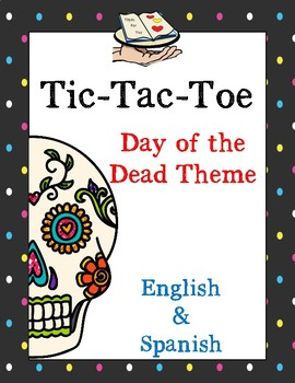 Day of the Dead Tic tac toe game