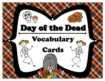 Day of the Dead Vocabulary Cards