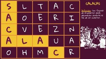 Day of the Dead Word Game: Desastre de letras