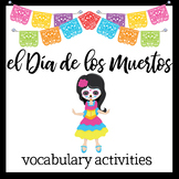 Day of the Dead cut-and-paste vocabulary activities
