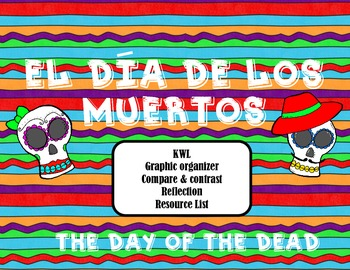 Day of the Dead (día de los muertos) Mini-Unit Printables and Lessons