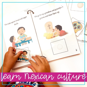Day of the Dead interactive vocabulary book