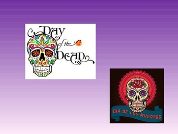 Day of the Dead presentation with video clips