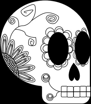 Day of the Dead skeleton anatomy