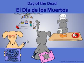 Day of the Dead with Pepper or El Día de los Muertos