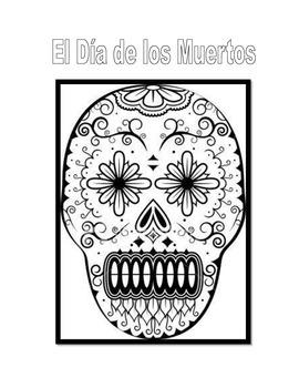 Day of the Dead/Dia de los Muertos Activity Packet