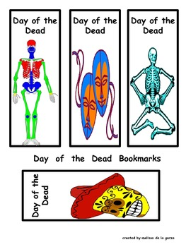 Day of the Dead/Dia de los Muertos Bookmarks