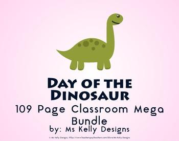 Day of the Dinosaur 109 Page Classroom Mega Bundle Set