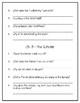 Day of the Dragon King Novel Study - DRA 28