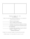 Day of the Dragon King Student Activity Packet