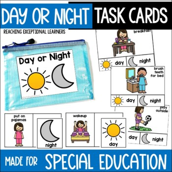 Day or Night Task Card Set for Special Education