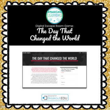Day that Changed the World (9/11) Digital Escape Room / Breakout Game