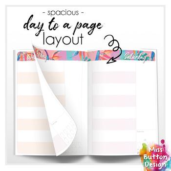 Day to a Page - 2020 Printable Teacher Diary Planner - TAS School Term Dates