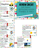 Day/Night, Seasons, Moon Phases, & Tides Review Circuit