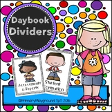 Daybook Page Dividers