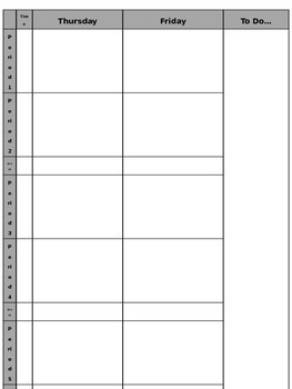 Daybook Template EDITABLE