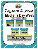 Daycare Curriculum (Mother's Day) Letter M, Shape Triangle