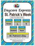 Daycare Curriculum (St. Patrick's) Letter L, Shape Heart,