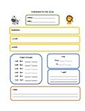 Daycare Daily Sheet