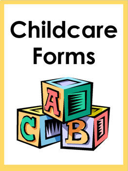 Daycare Forms