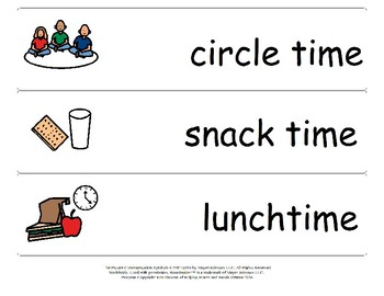 Daycare - Schedule Strips