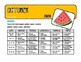 Daycare, School, or Home Full Year Filled-In Menu Calendar